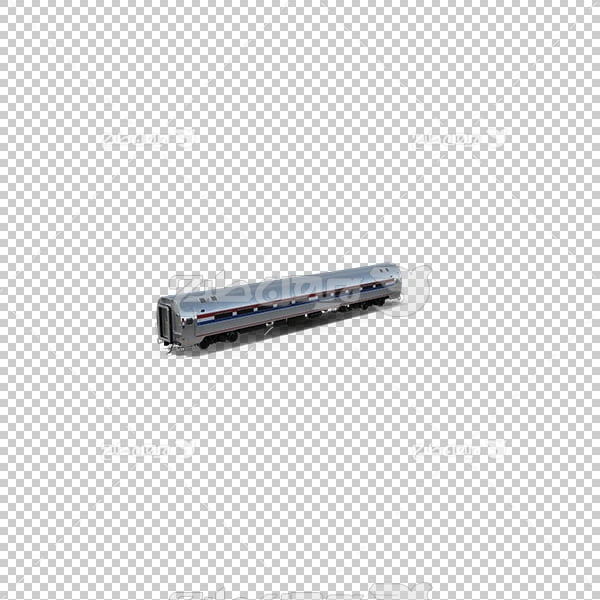تصویر سه بعدی دوربری واگن قطار
