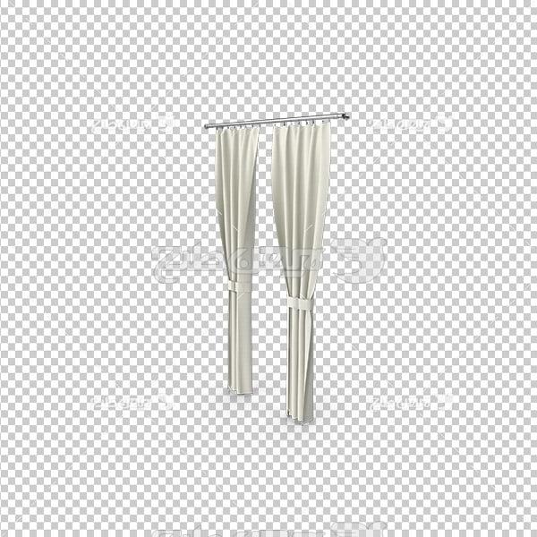 تصویر دوربری سه بعدی پرده سفید