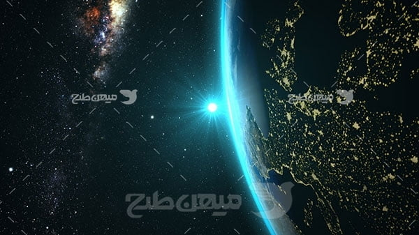 عکس کره زمین از فضا
