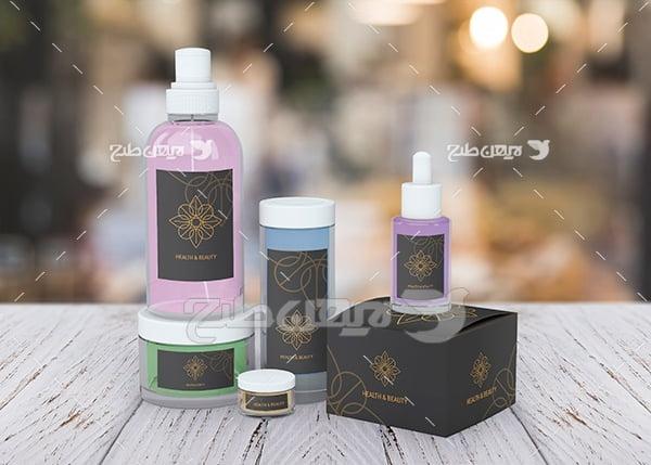 موکاپ بسته بندی محصولات آرایشی بهداشتی