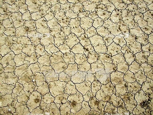 تصویر زمین خشک شده