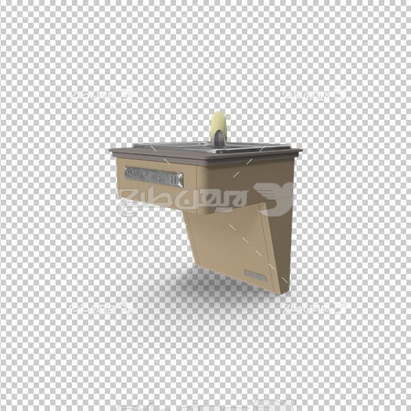 تصویردوربری سه بعدی سینک روشویی