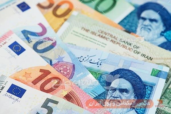 عکس اسکناس ایران و ارز خارجی