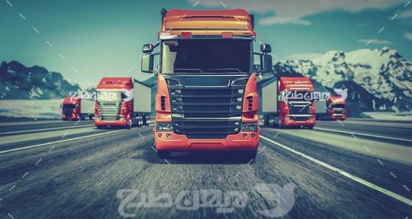 عکس کامیون