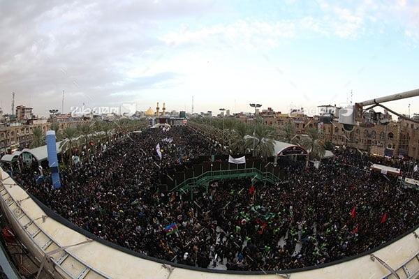 تصویر با کیفیت از اربعین امام حسین علیه السلام