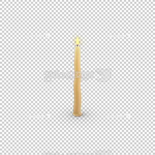 تصویر سه بعدی دوربری شمع