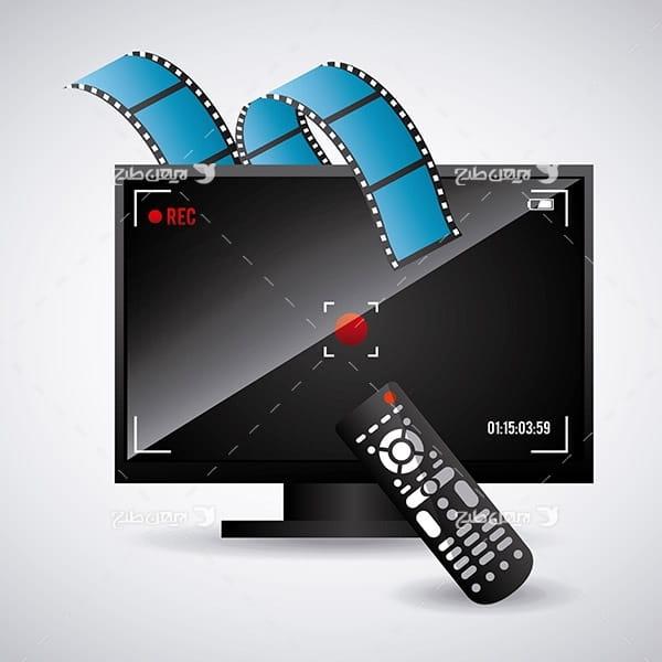 وکتور تلویزیون و کنترل