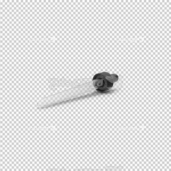 تصویر دوربری سه بعدی قطره چکان