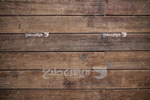 بک گراند دیوار چوبی