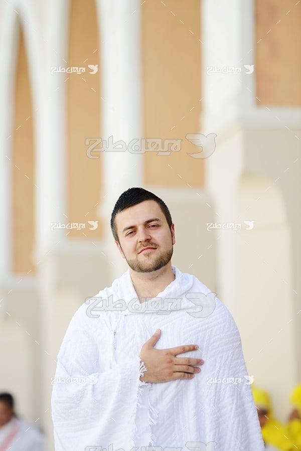 عکس حجاج و مسلمان