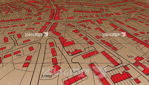 وکتور نقشه