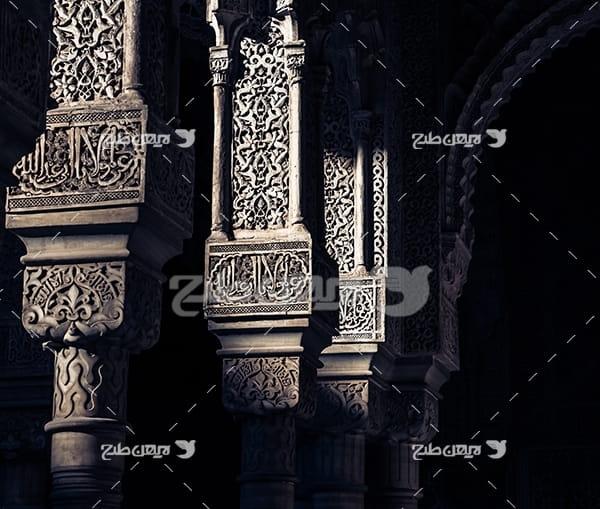 عکس ستون های مذهبی