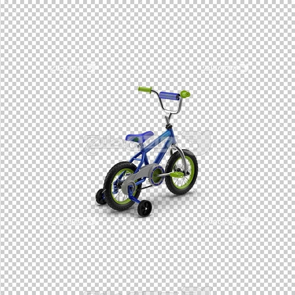 تصویر دور بری سه بعدی دوچرخه