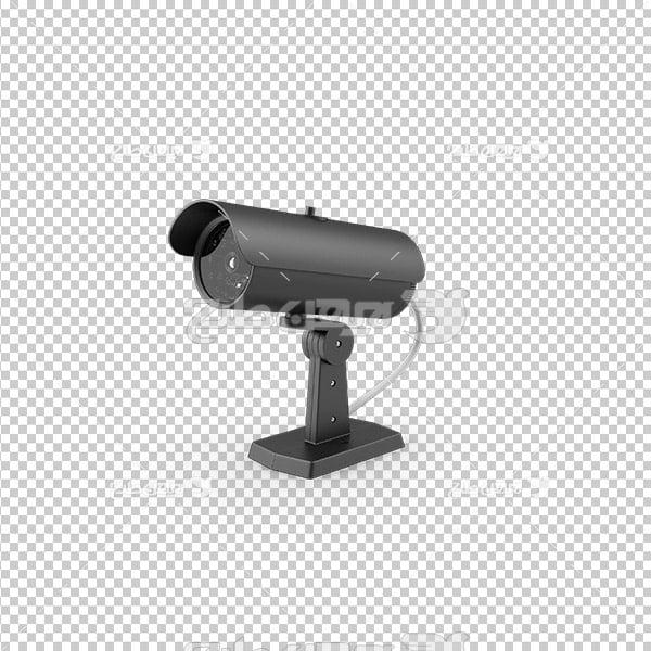تصویر دوربری سه بعدی دوربین مدار بسته