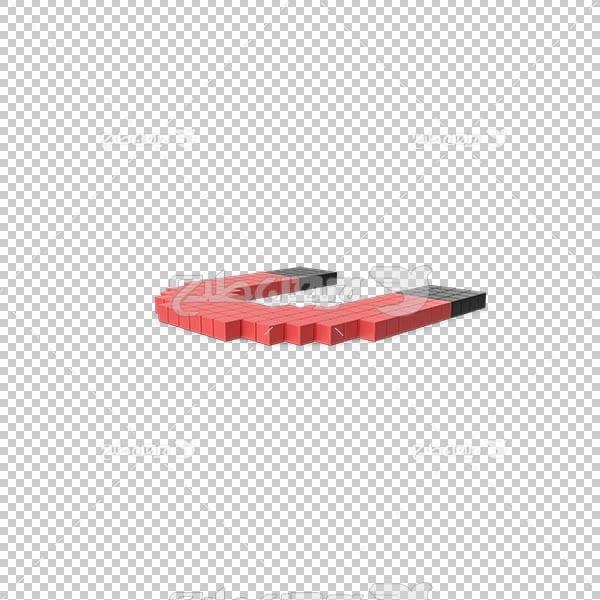 تصویر سه بعدی دوربری آهنربا