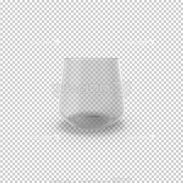 تصویردوربری سه بعدی لیوان