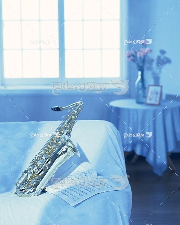 تصویر موسیقی ساكسوفون