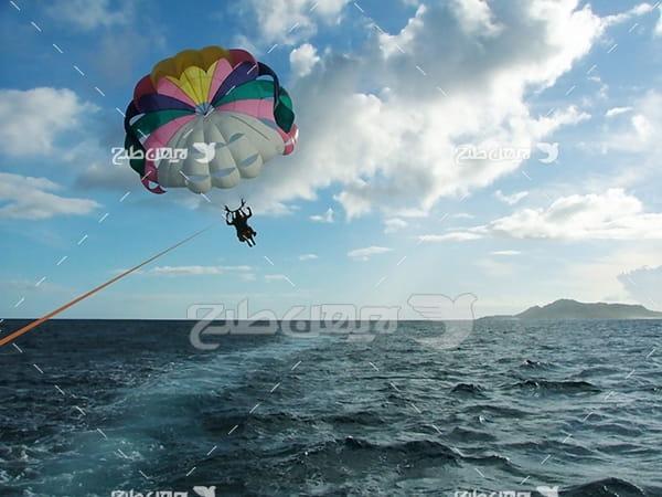 عکس ورزش چتر بازی