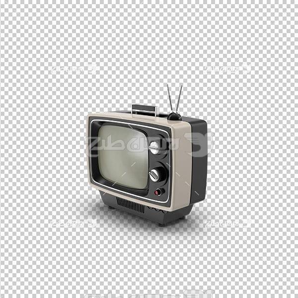 تصویر دوربری تلویزیون قدیمی