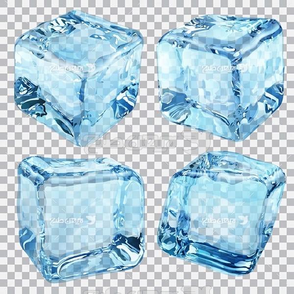 وکتور گرافیکی یخ