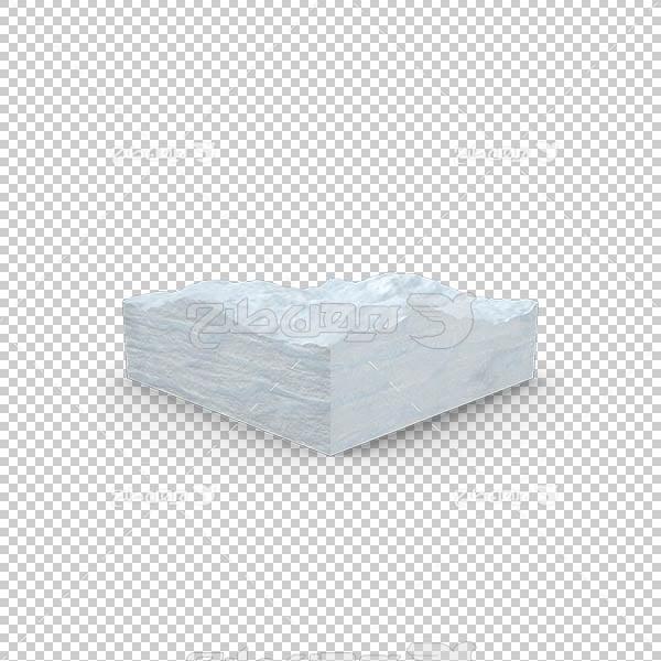 تصویر سه بعدی دوربری صفحه برف