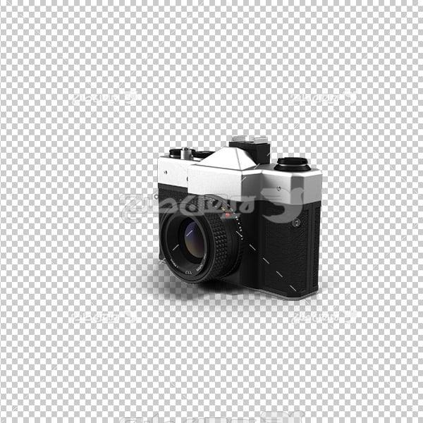 تصویر دوربری سه بعدی دوربین عکاسی قدیمی