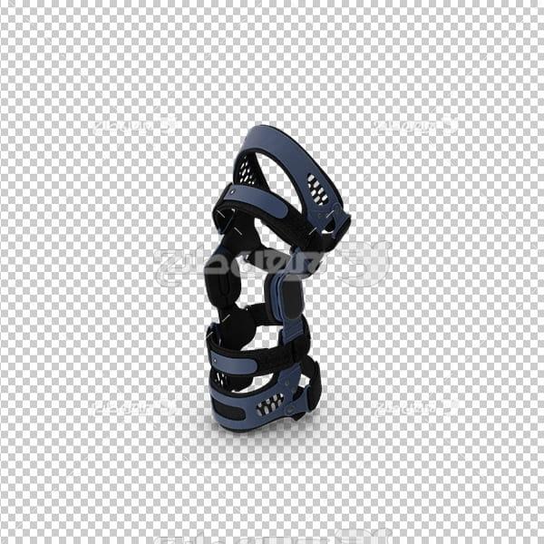 تصویر دوربری سه بعدی آتل زانو