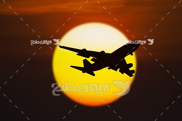 عکس پرواز هواپیما