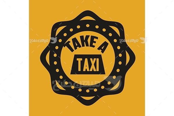 وکتور آیکن تاکسی
