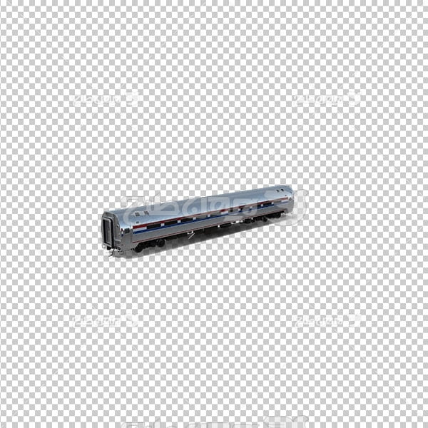 تصویر دوربری سه بعدی قطار