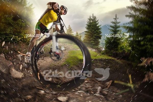 عکس ورزشی دوچرخه سواری