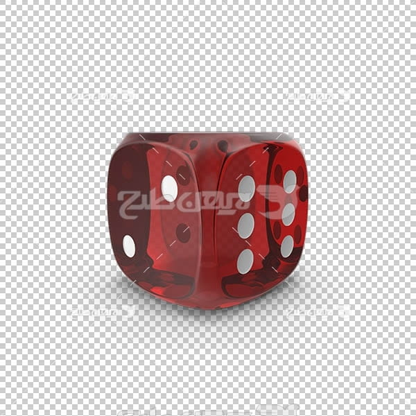 تصویر سه بعدی دوربری تاس قرمز