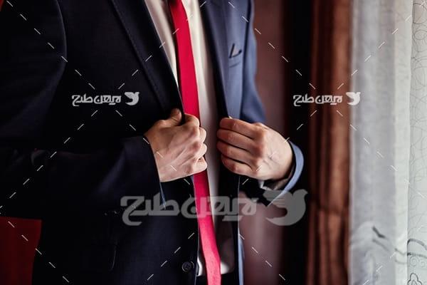 عکس کت و پیراهن مردانه