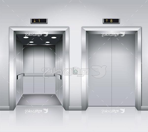 وکتور آسانسور