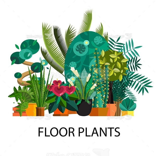 وکتور گیاهان