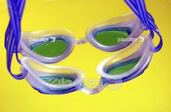 عکس عینک شنا