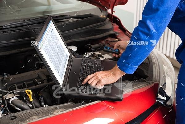 تنظیم موتور ماشین