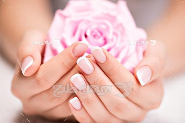 عکس ژلیش ناخن دست