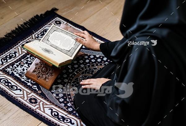 عکس جانماز و قرآن