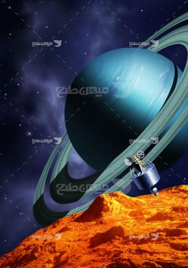 عکس سیاره اورانوس