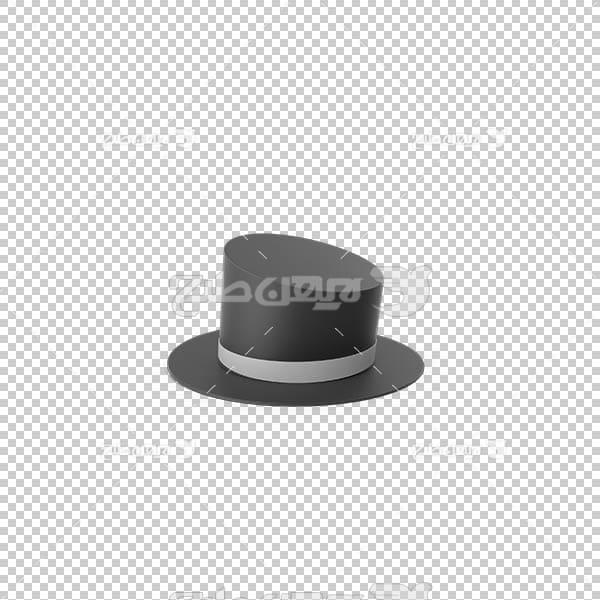 تصویر سه بعدی دوربری کلاه شعبده بازی