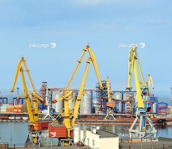 تصویر صنعتی از گمرک