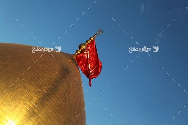 تصویر با کیفیت از گنبد امام حسین علیه السلام