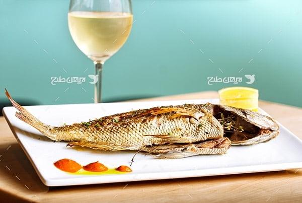 عکس ماهی کباب