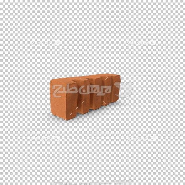 تصویردوربری سه بعدی آجر
