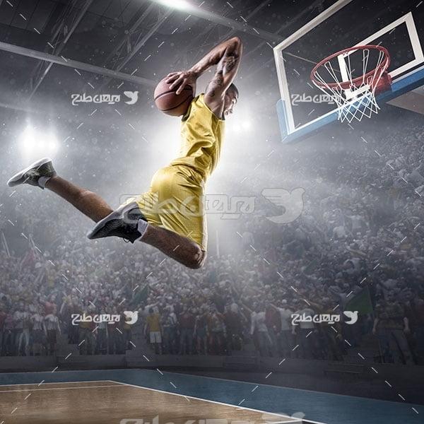 تصویر ورزشی بسکتبال