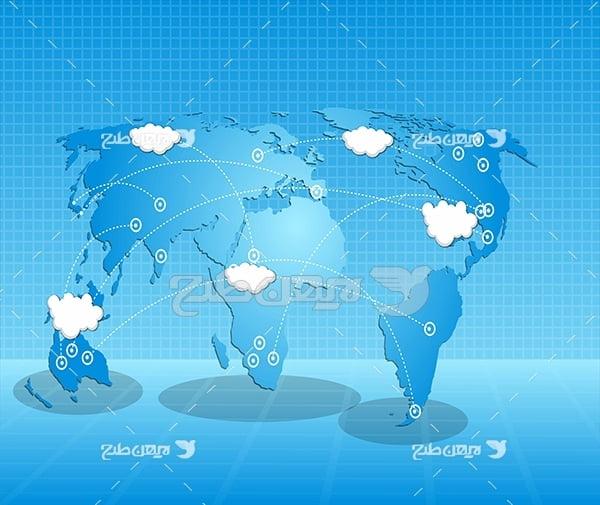 نقشه آب هوا