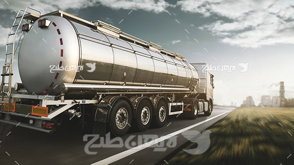 عکس کامیون حمل نفت کش