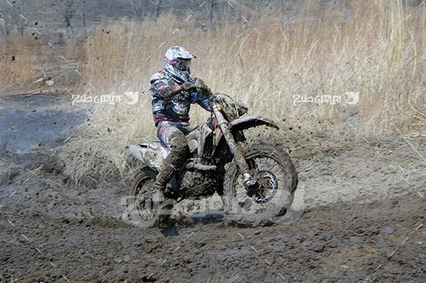 عکس ورزش موتور سواری