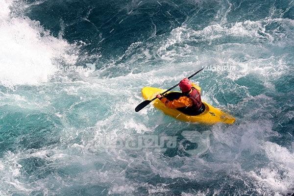 عکس ورزشی قایق سواری